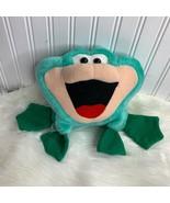 "Cloud 9 Plush Frog Vintage Road 7"" Tall Stuffed Animal Toy - $10.39"