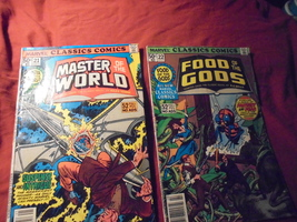 MARVEL CLASSICS COMICS Issues 21 & 22 * Master of the World & Food of th... - $7.00