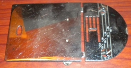 Sanco Badged New Home 535 Zig Zag Throat & Slide Plate w/Screws - $15.00