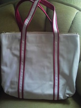 PRE OWNED/COACH POPPY/PINK LEATHER HEART TOTE/LEATHER/14551 image 2