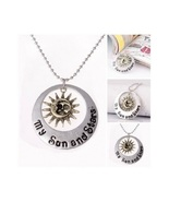 Game Of Thrones A Song of Ice & Fire Necklace My Sun & Stars Moon of My ... - $9.95
