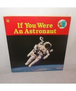 If You Were An Astronaut Golden Book 1985 Space Home School Science - $9.78