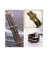 Leather Targaryen Dragon Charm Bracelet Vintage Looking Game of Thrones ... - $6.98