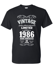 30th Birthday Gift For Men and Women Vintage 1986 Aged To Perfection Mostly Orig - $12.50+