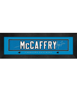 Christian McCaffry Player Signature Stitched Jersey Framed Prin - $39.95