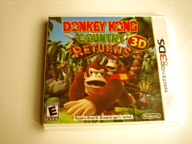 Primary image for Donkey Kong Country Returns 3d  Original Print  (Brand New)