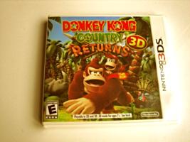 Donkey Kong Country Returns 3d  Original Print  (Brand New) - $30.88