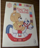 Rag Tag Teddies Cross Stitch Book Patterns 56 G... - $5.50