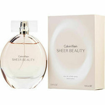 Calvin Klein Sheer Beauty Edt Spray 3.4 Oz For Women - $41.32