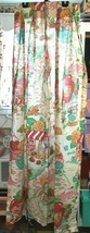 Vintage Strawberry Shortcake Curtain Pinch Pleat Drapes 1pc Only - $18.32