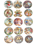 Teddy Bear Collector Plate The Frankin Mint Sue Willis Patricia Brooks C... - $84.24