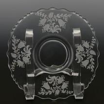 Tiffin Fuchsia Elegant Glass Bowl Mayo and Liner image 2