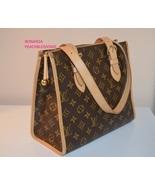 100% Authentic Louis Vuitton Poppincourt Haut Toile Canvas Bag  - $495.00