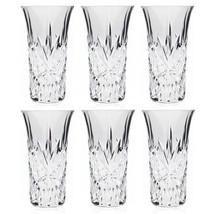 NEW!! Crystal Vodka Shooters 6 Drinking Crystal... - $32.65