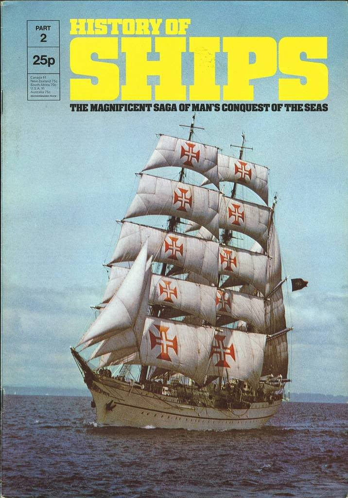 HISTORY OF SHIPS #02  1975 VG TO FINE RARE