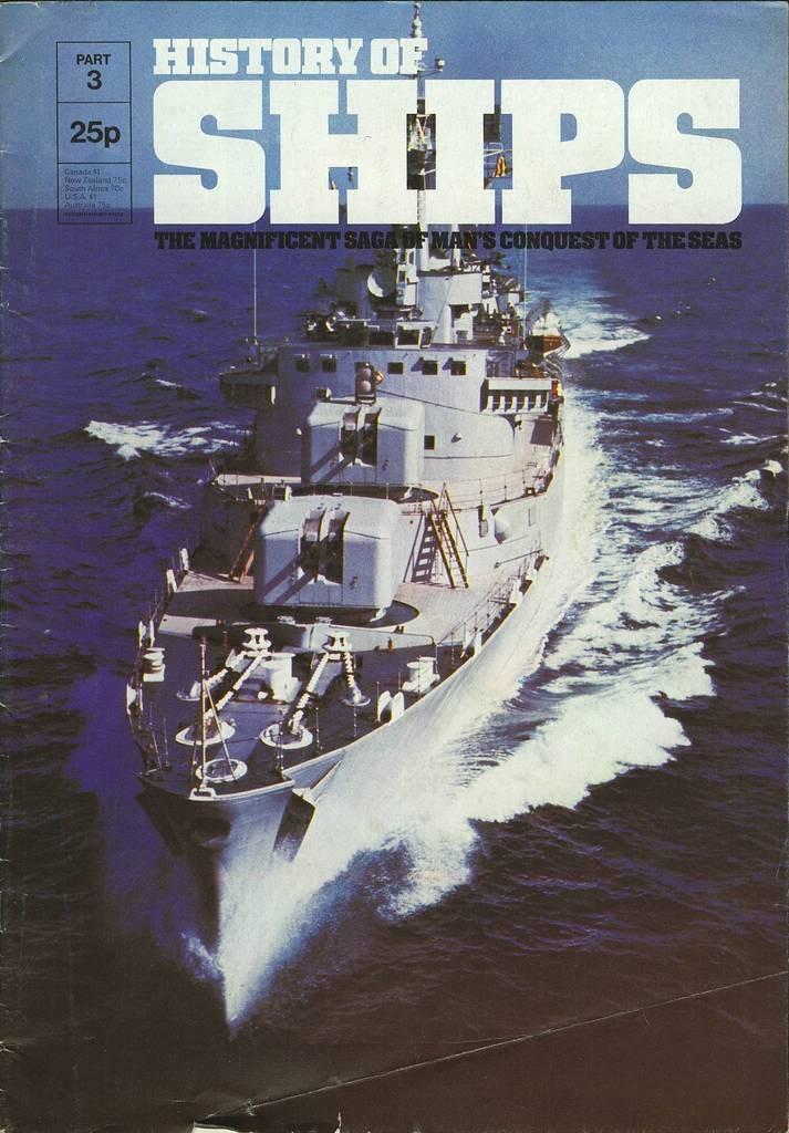 HISTORY OF SHIPS #03  1975 GOOD RARE