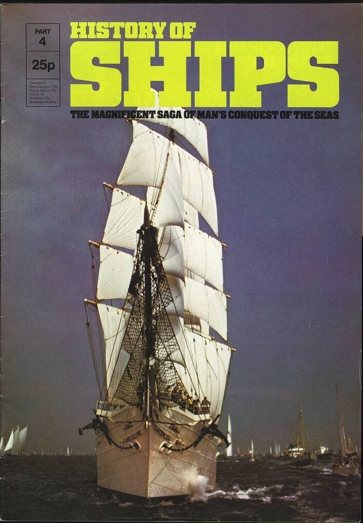 HISTORY OF SHIPS #04  1975 VG TO FINE RARE