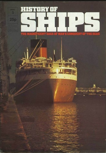 HISTORY OF SHIPS #05  1975 VG TO FINE RARE