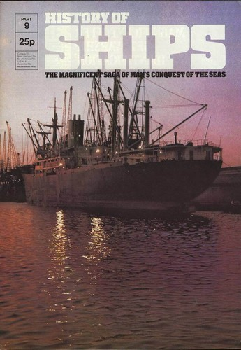 HISTORY OF SHIPS #09  1975 VG TO FINE RARE