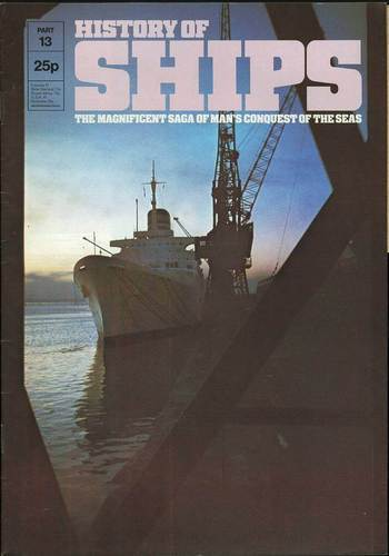 HISTORY OF SHIPS #13  1975 VG TO FINE RARE