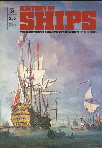 HISTORY OF SHIPS #24  1975 VG TO FINE RARE