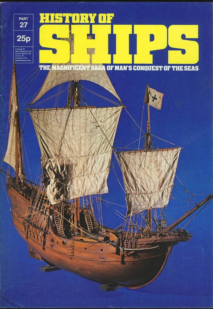 HISTORY OF SHIPS #27  1975 VG TO FINE RARE