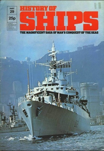 HISTORY OF SHIPS #29  1975 VG TO FINE RARE
