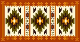 "Latch Hook Pattern Chart: READICUT #974 Kilim  30"" x 56""  - EMAIL2u - $6.95"
