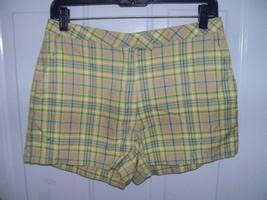 J.Crew Multi-Colored Plaid Shorts Size 8 Women's EUC - $16.20