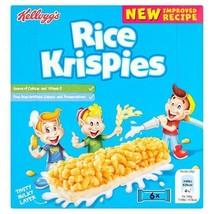 Kellogg's Rice Krispies Cereal Milk Bars 6 x 20g - $6.30