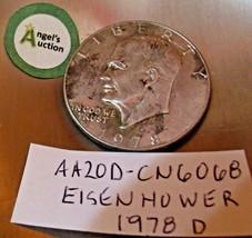 Eisenhower 1978 D Silver Dollar AA20D-CN6068 image 2