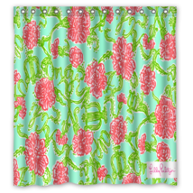 Floral Pattern Here Is a Hi Res Of The Shower Curtain Waterproof Made Fr... - $29.07+