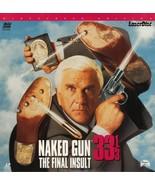 NAKED GUN 33 1/3 LTBX  PRISCILLA PRESLEY  LASERDISC  RARE - $9.95