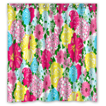 Floral Pattern Heritage Floral Shower Curtain Waterproof Made From Polye... - $29.07+