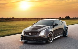 2013 Cadillac cts vr 1200 twin turbo 24X36 inch poster, sports car, musc... - $18.99