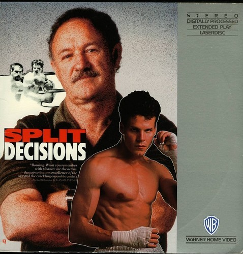 SPLIT DECISIONS  JENNIFER BEALS LASERDISC RARE