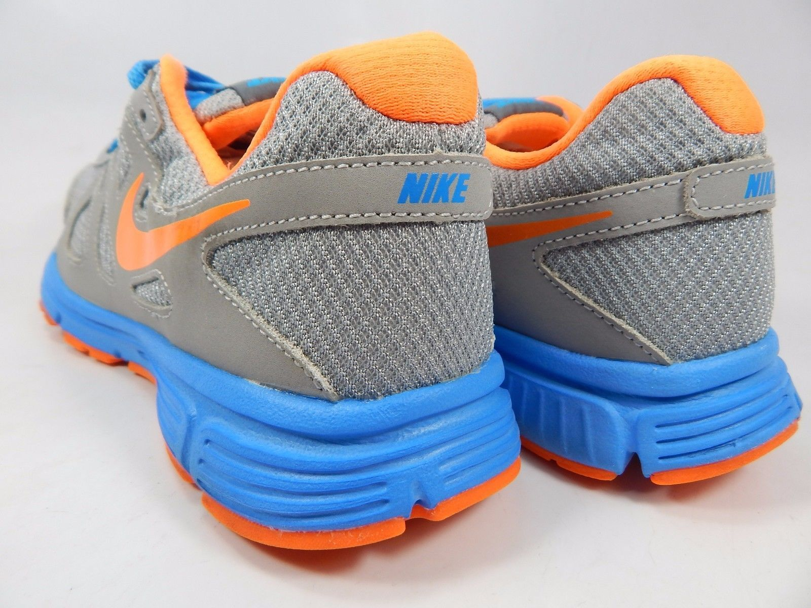 Nike Revolution 2 Youth Girls Running Shoes Size US 6 Y EU 38.5 Gray 555082-008