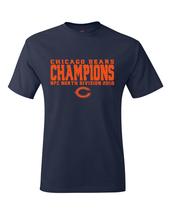 Bears 2018 NFC North Division Champions T-Shirt - $22.99+