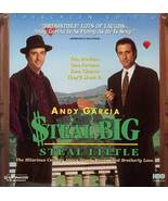 STEAL BIG STEAL LITTLE LTBX  RACHEL TICOTIN LASERDISC NOT A DVD - $9.95