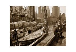 ''Brooklyn Pier, 1934 (sepia)'' by Anon Archite... - $62.40