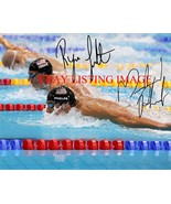 MICHAEL PHELPS AND RYAN LOCHTE SIGNED AUTO 8x10 RP PHOTO OLYMPICS GOLD M... - $16.99
