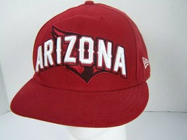 Arizona Cardinals NFL Hat New Era 59Fifty Fitted Authentic Red Size 7 5/8 - $18.50