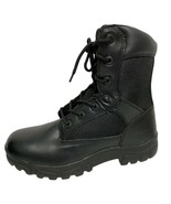 DieHard men's Statute Black Work Boot Oil slip resistant soft leather si... - $48.17