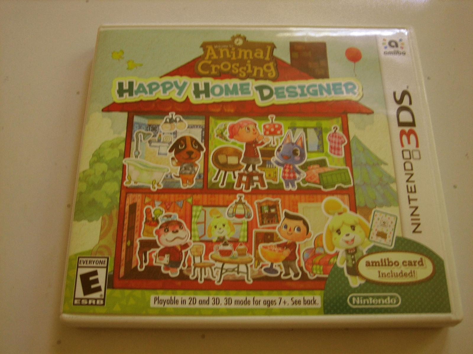 Primary image for Animal Crossing Happy Home Designer 3ds (Complete)