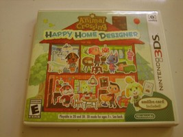 Animal Crossing Happy Home Designer 3ds (Complete) - $27.99