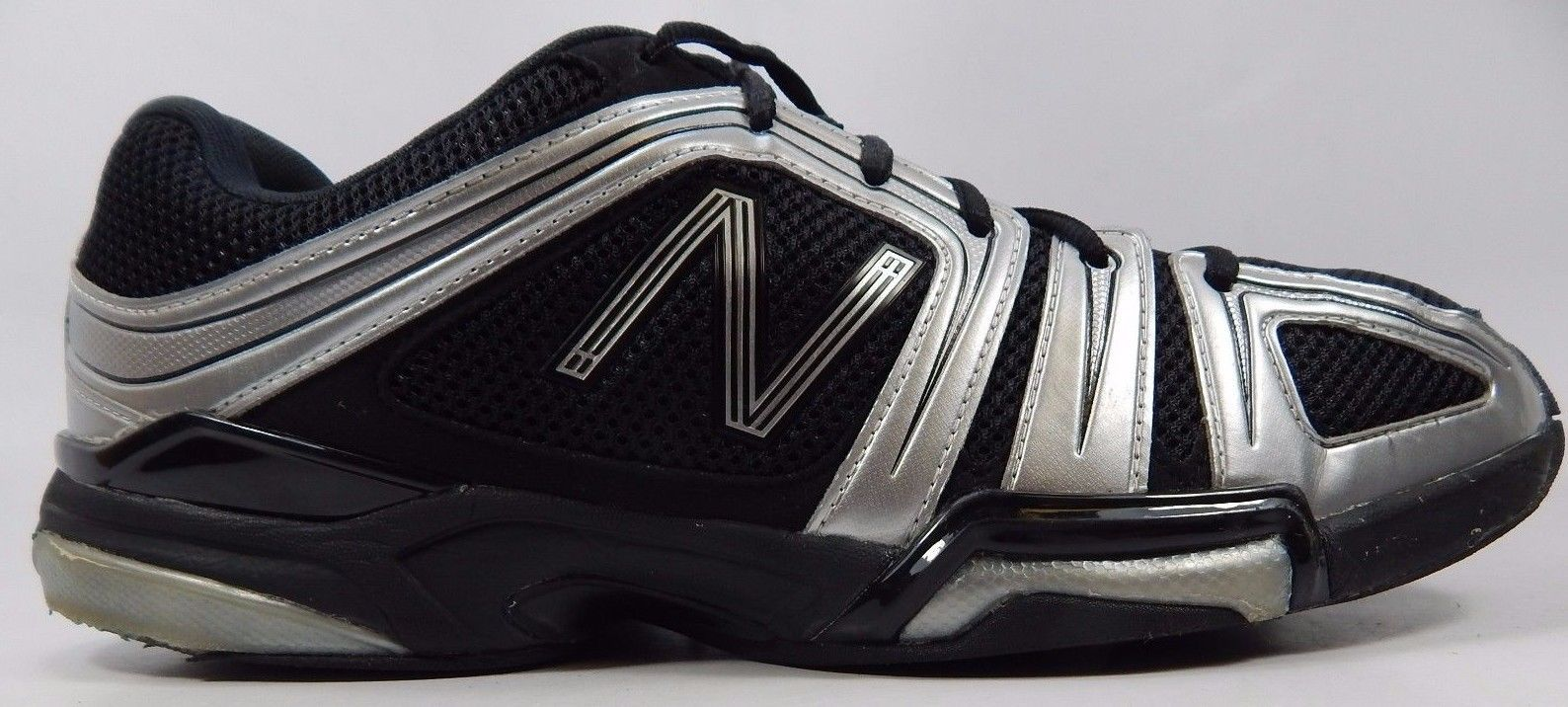 New Balance 1005 Men's Tennis Court Shoes Sz US 12.5 M (D) EU 47 Black MC1005BS