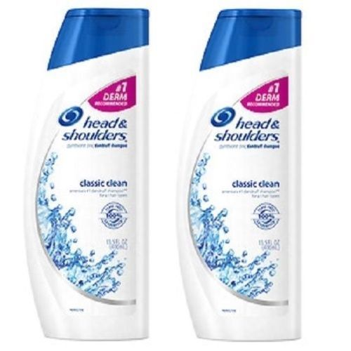 Head & Shoulders Classic Clean Dandruff Shampoo 2 Bottle Pack