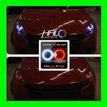 2013-2015 ORACLE Dodge Dart WHITE/RED DUAL COLOR LED Headlight Halo Ring... - $182.99