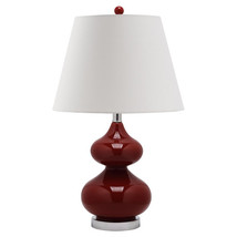 Hourglass Table Lamp with Empire Shade image 2
