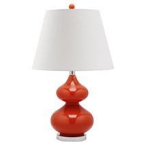 Hourglass Table Lamp with Empire Shade image 3